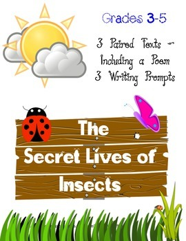 Environmental Science ~ Paired Text with 3 Text Based Writing Prompts ~ No Prep!