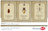 Insects 5x7 Wall Cards or Banner