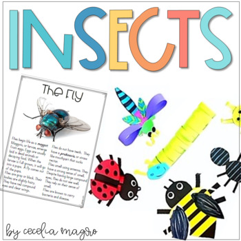 Insects - A Non Fiction Close Reading Unit