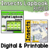 Insects Activities Interactive Notebook Digital and Printa