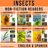 Insects BUNDLE Non-Fiction Spanish Readers