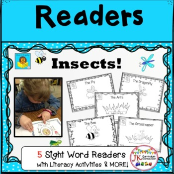 Insects! Beginning Readers for Guided Reading