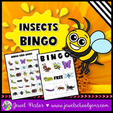 Insects Activities (Insect Science Bingo)
