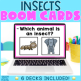 Insects Boom Cards - Distance Learning