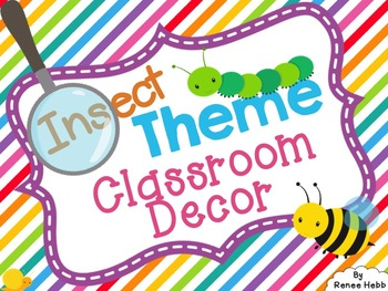Insects & Bugs Classroom Decor