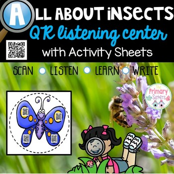 Insects & Bugs Listening Center with QR codes