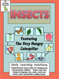 Insects- Bugs Math and Literacy Lesson Plans