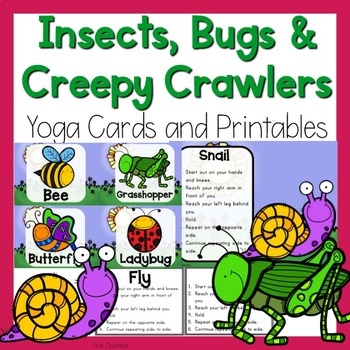 Insects, Bugs, and Creepy Crawlers Themed Yoga