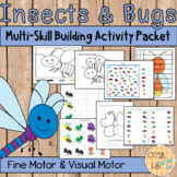 Insects and Bugs Fine Motor & Visual Motor Skills Packet