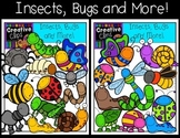 Insects, Bugs and More: Spring Clipart {Creative Clips Dig
