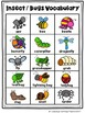 Insects, Bugs, and More Picture Word Card Mini-Set For Kin