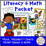 Butterflies: Butterfly Packet of Literacy and Math Activities {CCSS}
