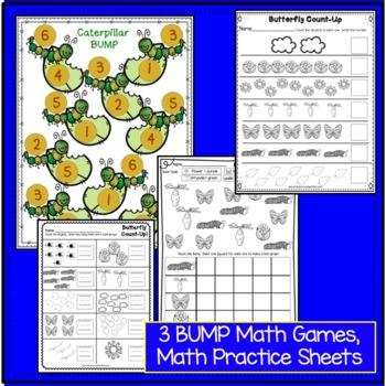 Butterflies: Butterfly Packet of Literacy and Math Activities {CCSS}