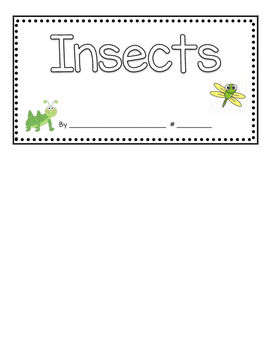 Insects Can Have Are Flip book