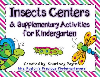 Insects Centers & Supplementary Activities