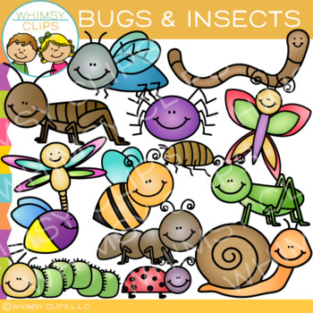Bugs and Insects Clip Art