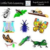 Bugs & Insects Clip Art (A-C) - Commercial Use