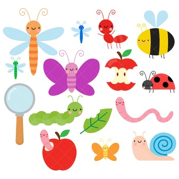 Insects Clip Art / Bugs Clip Art
