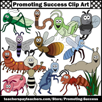 Insect Clipart Commercial Use Bug Images SPS