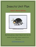 """""""Insects"""" Common Core Aligned Math and Literacy Unit - SMARTBOARD EDITION"""