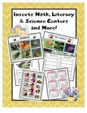 Insects Common Core Based Math, Literacy, & Science Centers & More!