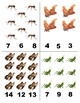 Insects: Count and Clip Cards for Math Centers