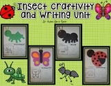 Insect Craftivity and Writing Unit