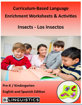 Insects - Curriculum‐Based Language Enrichment Worksheets