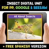 Insects Digital Activities for Google and Seesaw - Distanc