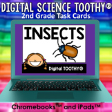 Insects Digital Science Toothy ® Task Cards | Distance Lea
