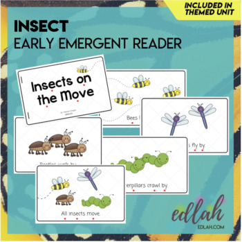 Insects Early Emergent Reader