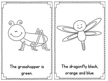 Insects Emergent Reader