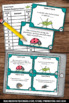 Insect Facts Task Cards Science Center Games & Activities SCOOT