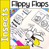 Insects Flippy Flaps Interactive Notebook Lapbook