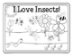 Insects Fun Frames Writing Activity