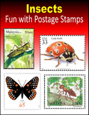 Insects:  Fun with Postage Stamps