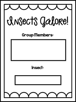 Insects Galore! PBL for the Primary Classroom