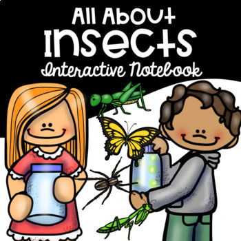 Insects Interactive Notebook, E.L.A. and Math Printable Bundle