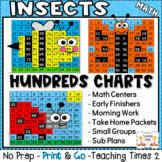 Insects Hundreds Charts l SCIENCE l MATH CENTERS