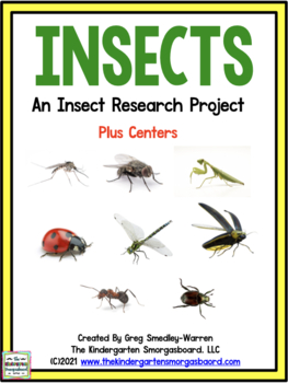 Insects Research And Writing Project!