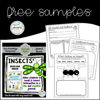 Insects  Journal Sampler