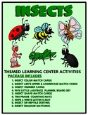 Insects Kit One  - Themed Learning Center Activity Kit