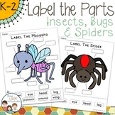 Insects Labeling Center Activities