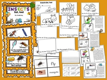 Insects Eat Too! Lets Make a Book