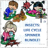 Insects Life Cycle Spinner Bundle
