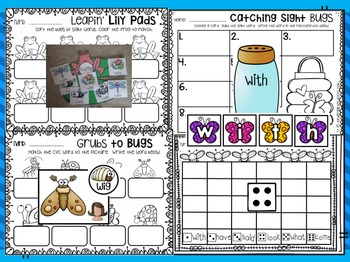 Insects Literacy Centers {CCSS}
