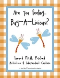 Insects: Math Activities, Worksheets & Centers