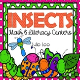 Insects Math & Literacy Centers