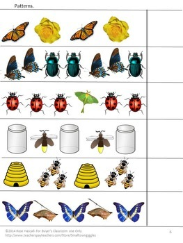 Insects, Bugs, Interactive Lapbook, Preschool, Kindergarten, Special Education