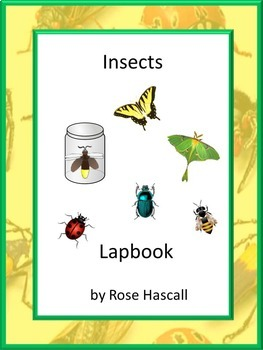 Interactive Lapbook Insects Math Literacy Centers